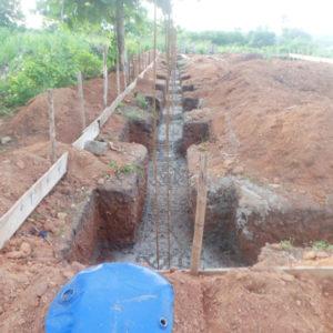 Poniendo cimientos