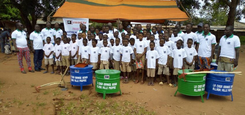 En Benin: «Residuo cero» en los colegios